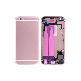 CHASIS IPHONE 6S ROSA CON COMPONENTES