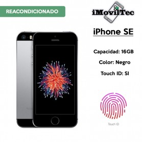 IPHONE SE 16GB GRIS ESPACIAL / NEGRO CON TOUCH ID - LIBRE